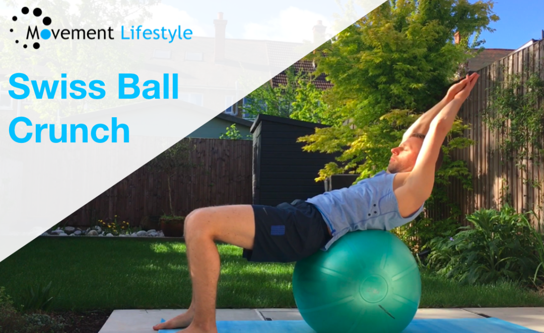 Movement of The Week – Swiss Ball Crunch