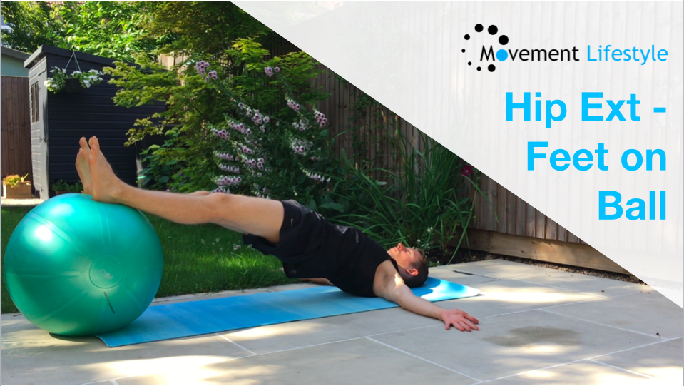 Movement of The Week – Hip Extension (Feet On Ball)