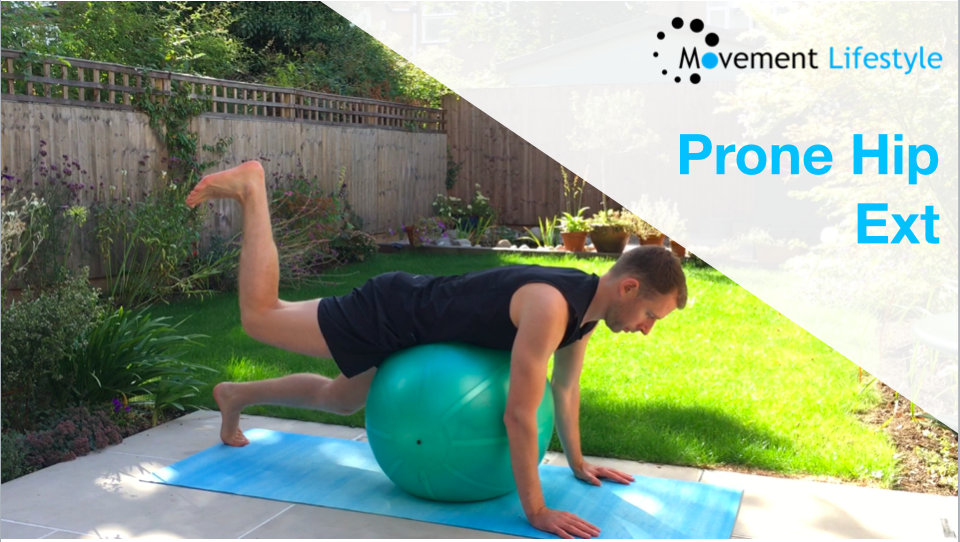 Movement of The Week – Prone Hip Ext