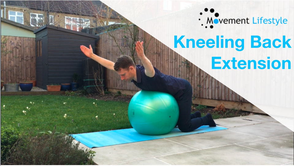 Kneeling Back Extension