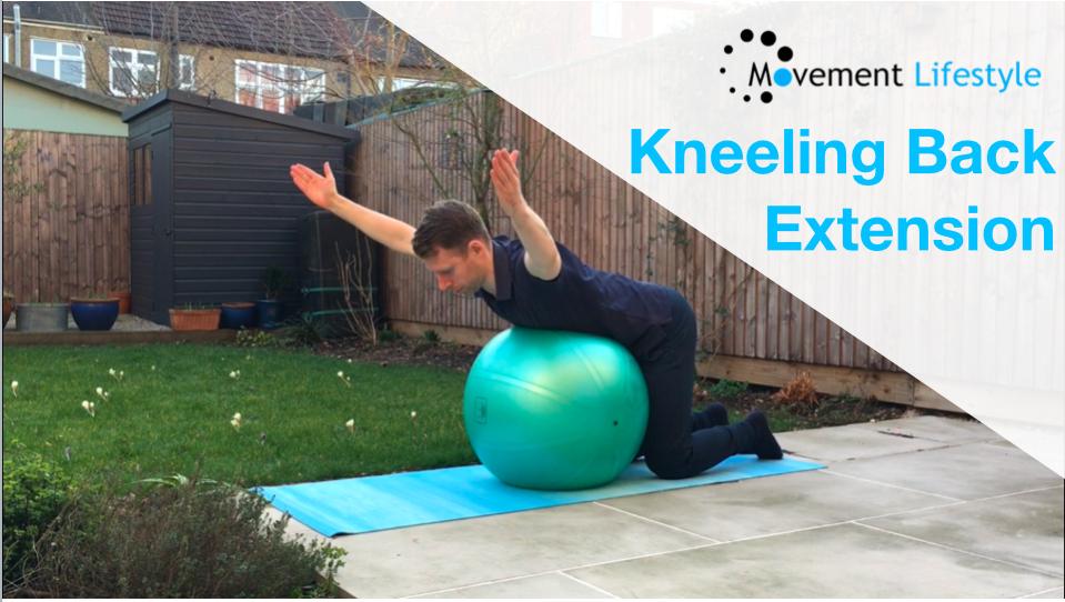 Kneeling Back Extension