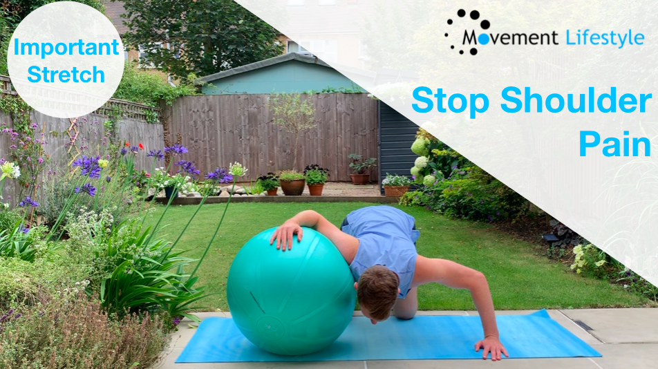 Stop Shoulder Pain | Important Stretch