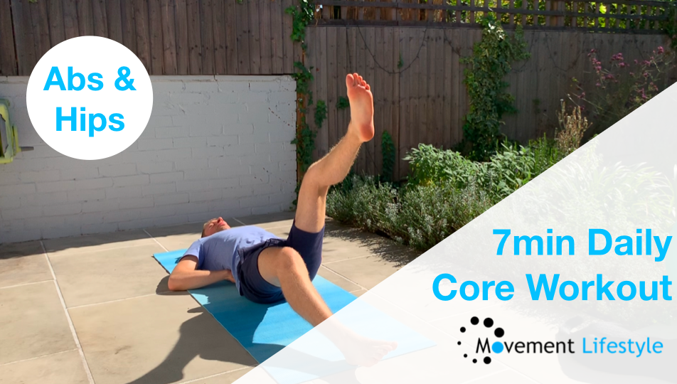 7 Min Daily Core Workout (Abs & Hips)