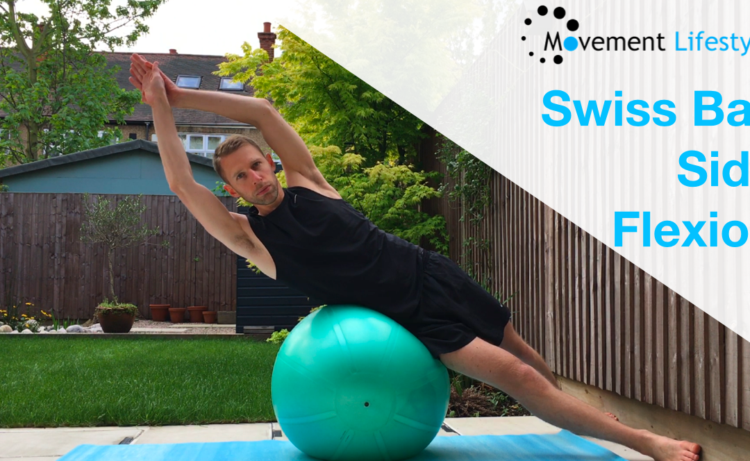 Swiss Ball Side Flexion