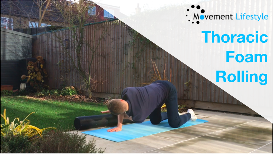 Foam Roller For Thoracic Mobility